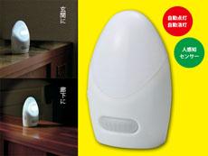 懐中電灯 自動点灯・消灯センサー付ライト